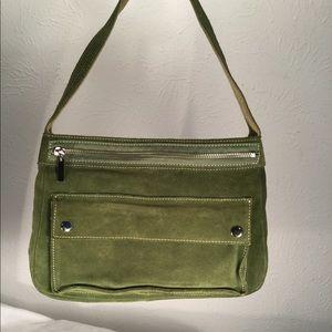 Banana Republic Green Leather Bag